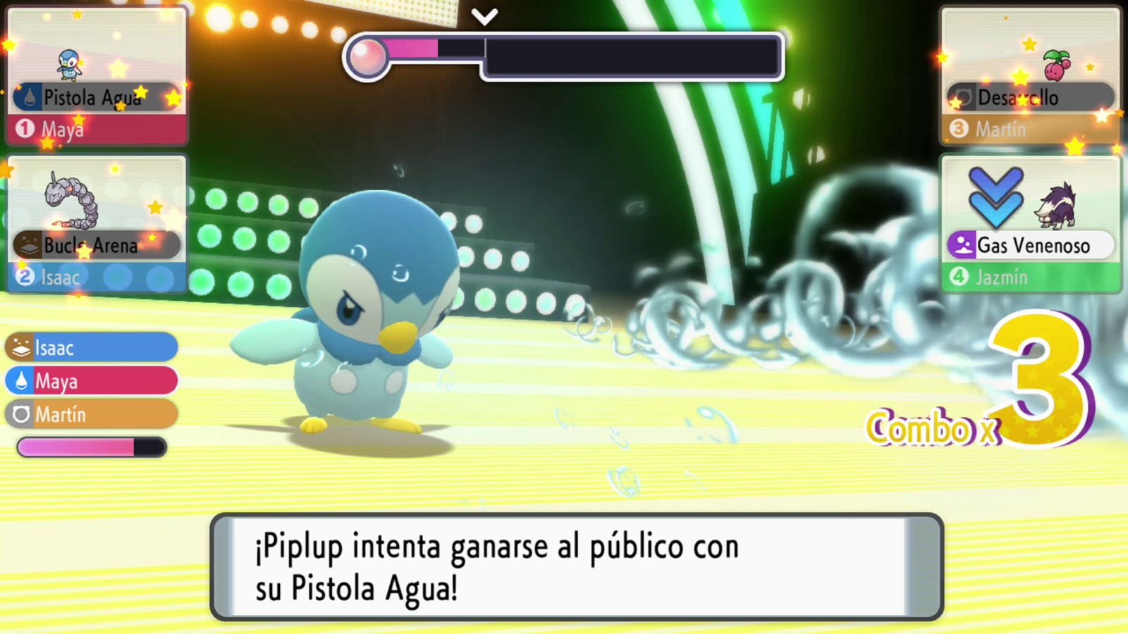 Pokémon Diamante Brillante Perla Reluciente Gala Superconcurso