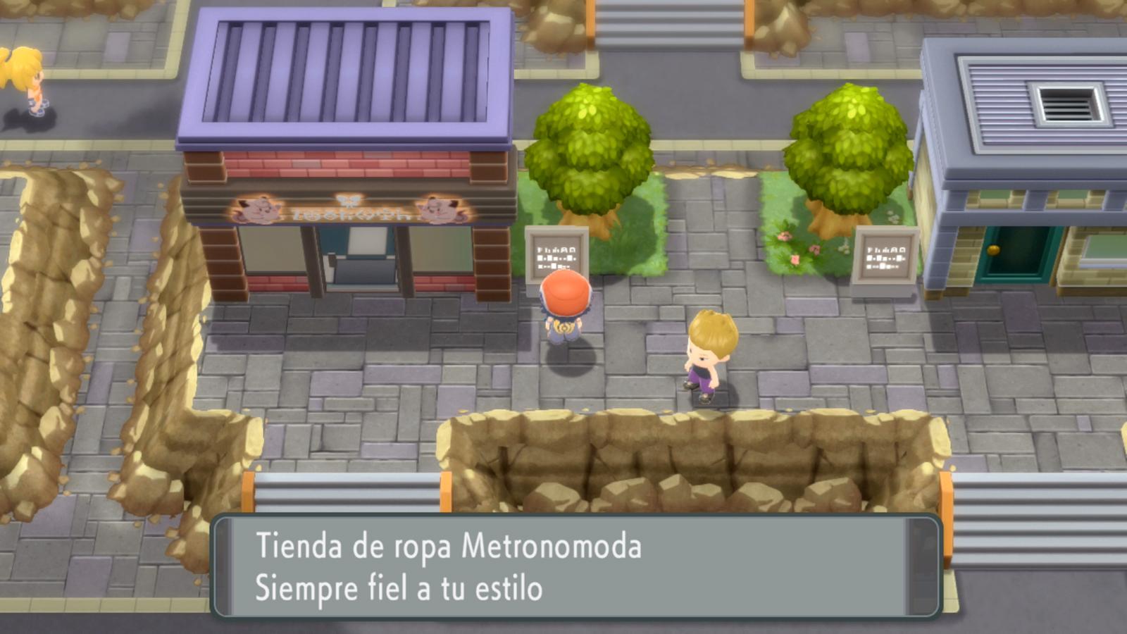 Pokémon Diamante Brillante Perla Reluciente Tienda de Ropa