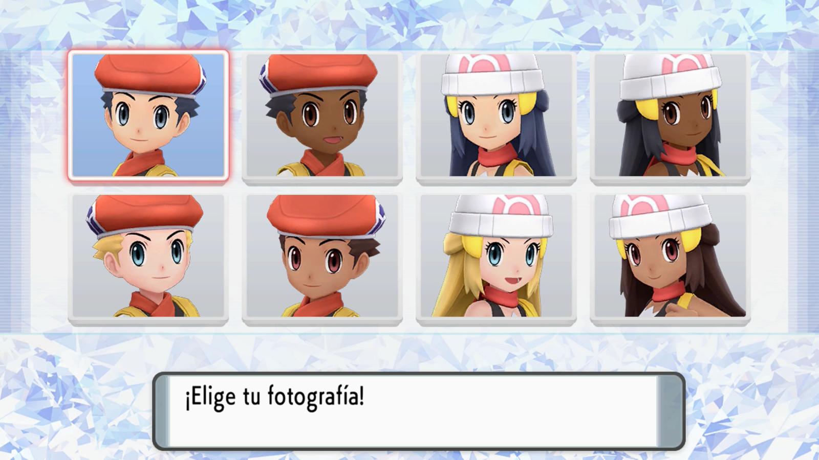Pokémon Diamante Brillante Perla Reluciente Personalización
