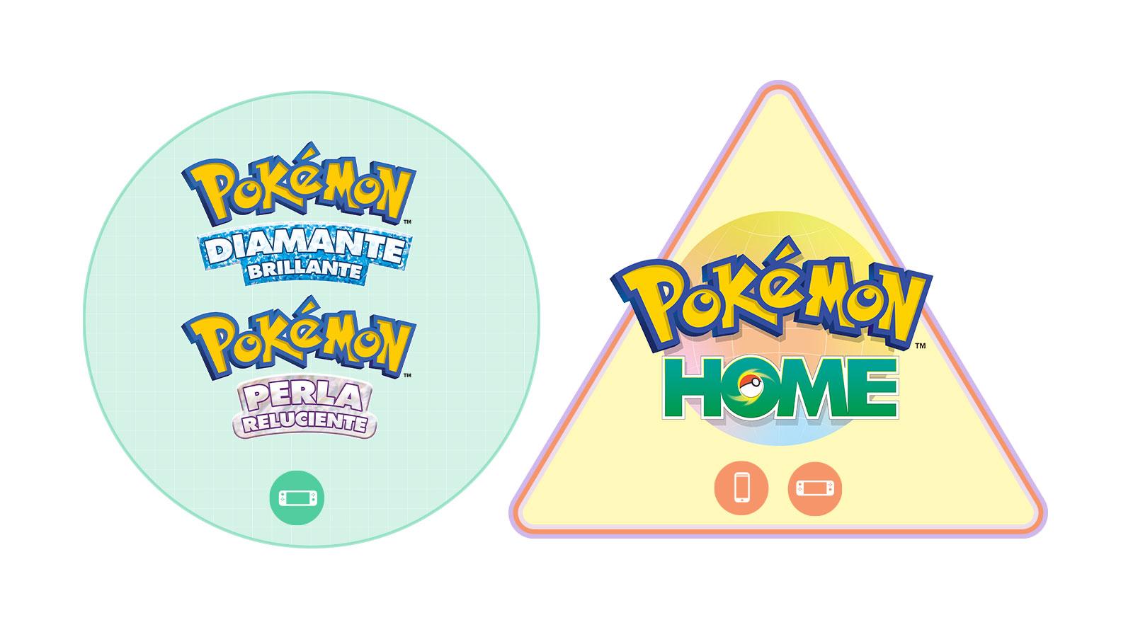 Pokémon Diamante Brillante Perla Reluciente HOME